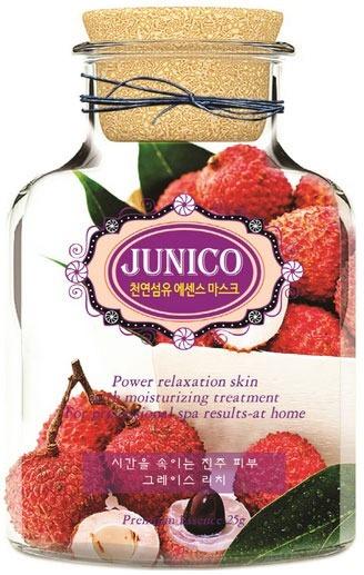 Mijin Cosmetics Junico Lychee Essence Mask.