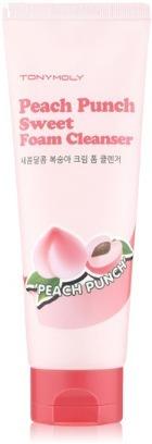 Tony Moly Peach Punch Sweet Foam Cleanser
