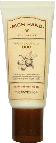 The Face Shop Rich Hand Cuticle Duo