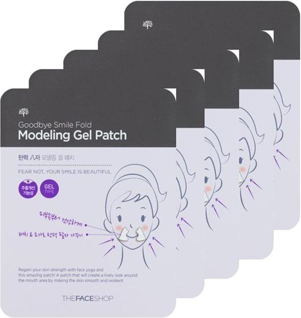 The Face Shop Good Bye Smile Fold Modeling Gel Patch фото
