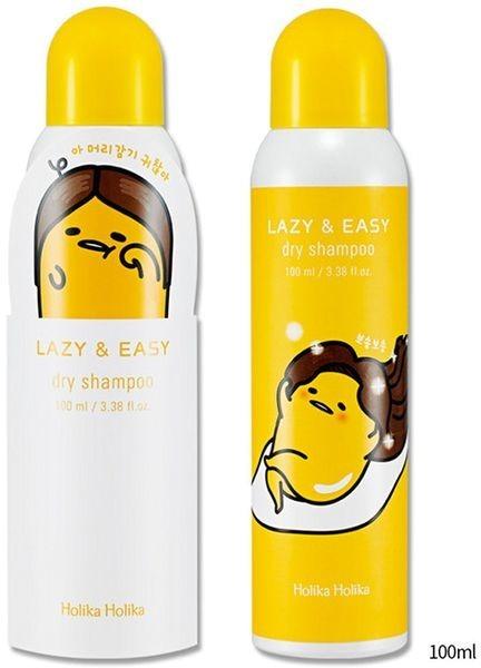 Сухой яичный шампунь Holika Holika Lazy & Eazy Gudetama Dry Shampoo