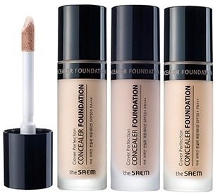 The Saem Cover Perfection Concealer Foundation SPF PA фото