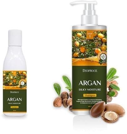 Deoproce Argan Silky Moisture Shampoo фото