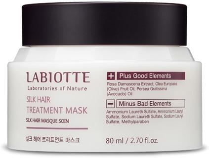 Labiotte Silk Hair Treatment Mask фото