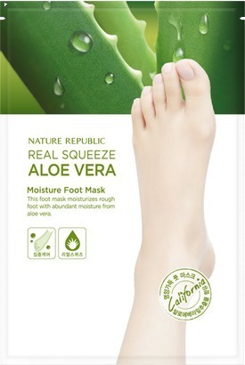 Nature Republic Real Squeeze Aloe Vera Moisture Foot
