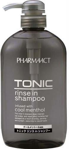 Kumano Cosmetics Pharmaact Tonic Rinse in Shampoo