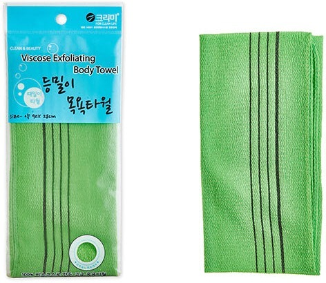 Sungbo Cleamy Viscose Back Bath Towel.