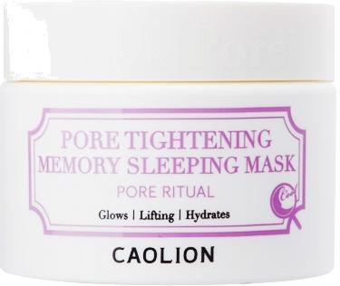 Caolion Pore Tightening Memory Sleeping Mask.