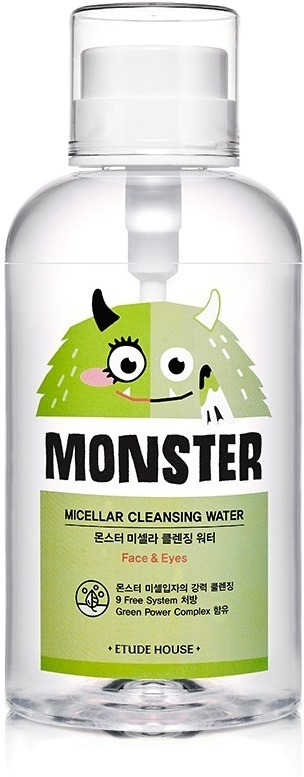 Etude House Et Monster Micellar Cleansing Water
