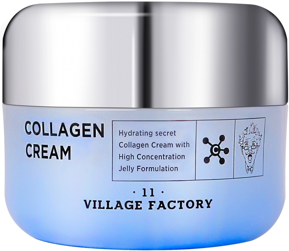 Купить Village Factory Collagen Cream, Village 11 Factory