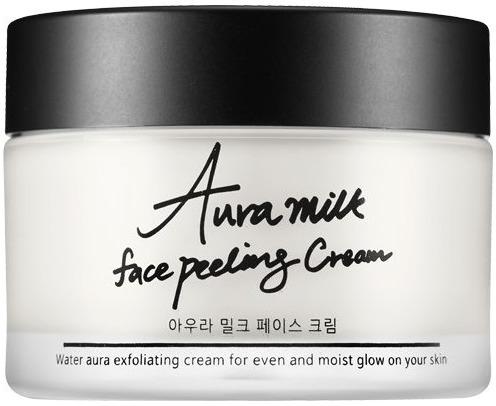 Tiam Aura Milk Face Peeling Cream фото