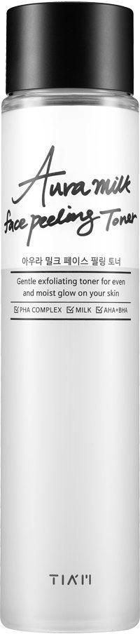 Tiam Aura Milk Face Peeling Toner фото
