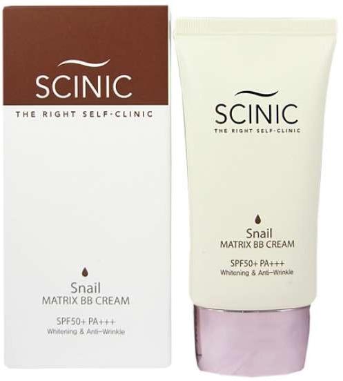 Scinic Snail Matrix BB Cream SPF  PA