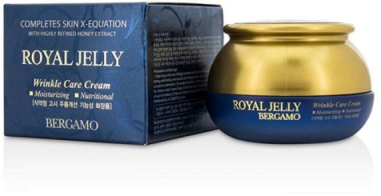 Bergamo Royal Jelly Wrinkle Care Cream