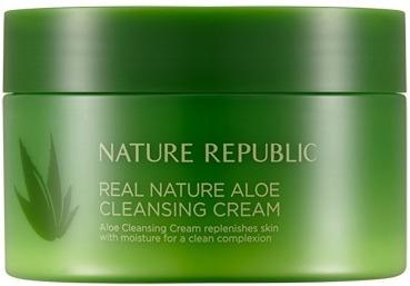 Nature Republic Real Nature Aloe Cleansing Cream фото