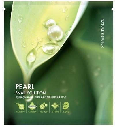 Nature Republic Snail Solution Hydro Gel Mask