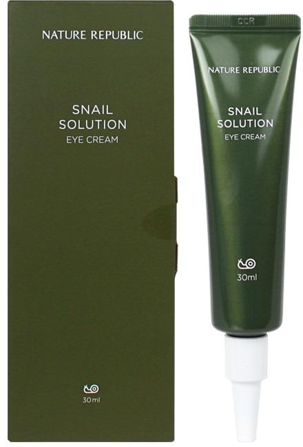 Купить Nature Republic Snail Solution Eye Cream