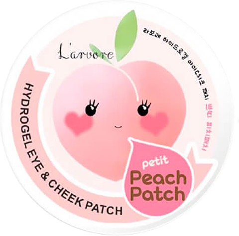 Larvore Hydrogel Eye and Cheek Petit Peach