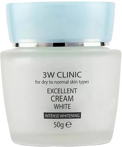 Купить W Clinic Excellent White Cream, 3W Clinic