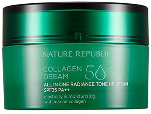 Nature Republic Collagen Dream All In One Radiance Tone Up Cream SPF PA фото
