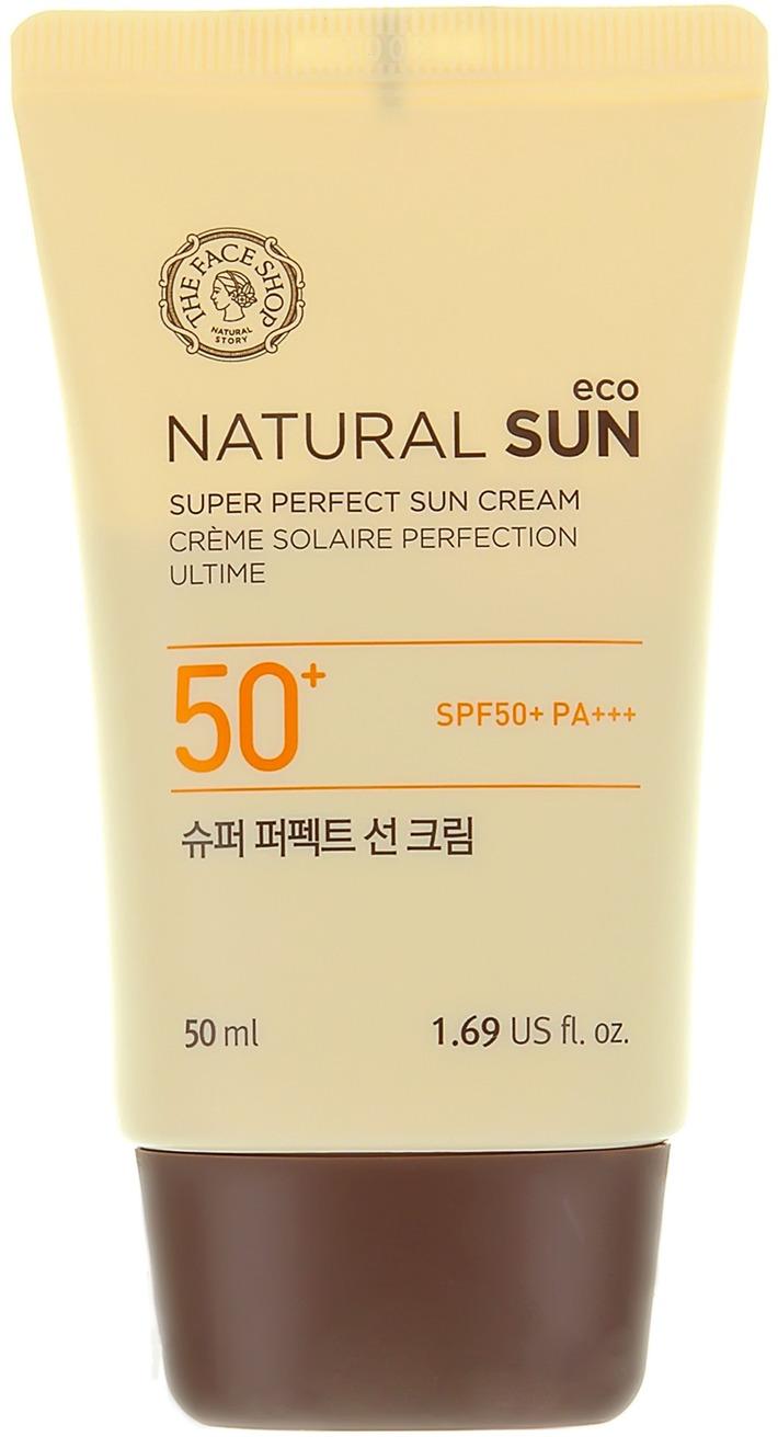 The Face Shop Natural Sun Eco Super Perfect Sun Cream SPF  PA