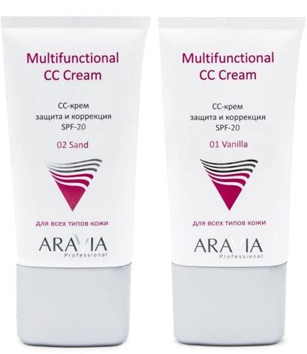 Aravia Professional Multifunctional CC Cream SPF фото