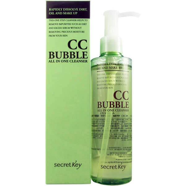 BB  CC  Secret Key CC Bubble All in One Cleanser